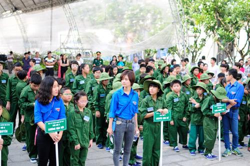 """200 """"chiến sĩ nhí"""" tiếp tục xuất quân tham dự Học kỳ trong quân đội của Viettel - 2"""