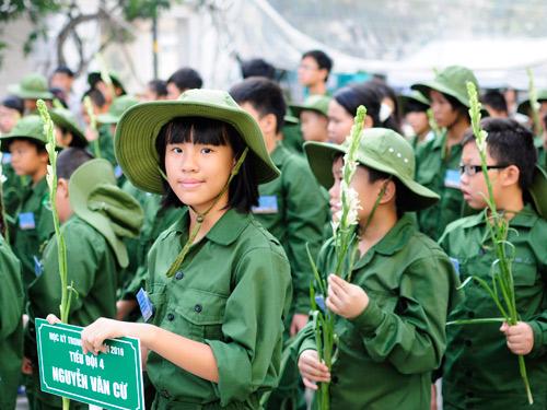 """200 """"chiến sĩ nhí"""" tiếp tục xuất quân tham dự Học kỳ trong quân đội của Viettel - 3"""