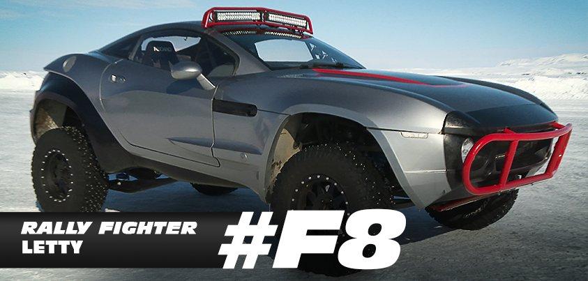 """Hé lộ dàn """"siêu xe băng"""" cáu cạnh của Fast & Furious 8 - 3"""