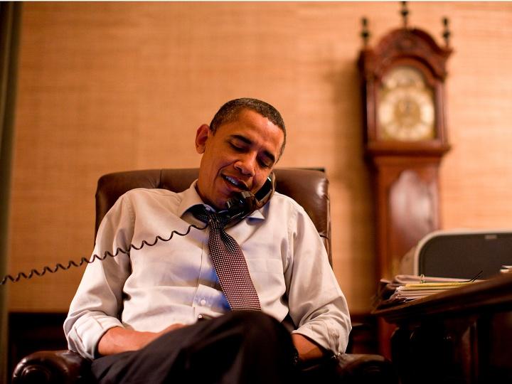 """Thói quen đặc biệt của """"cú đêm"""" Obama - 1"""