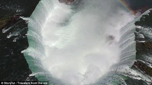Xem thác Niagara đẹp hùng vĩ từ trên cao - 2