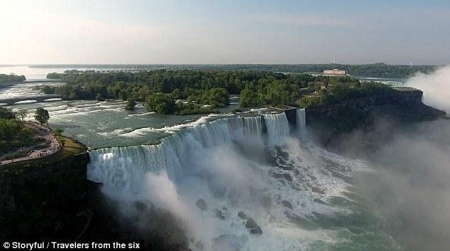 Xem thác Niagara đẹp hùng vĩ từ trên cao - 3