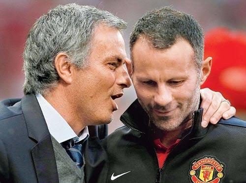 Giggs không ở lại MU vì bị nghi sẽ phản Mourinho - 1