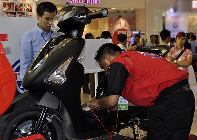 Kỹ thuật viên xe máy xuất sắc của VN được du đấu Nhật Bản - 2