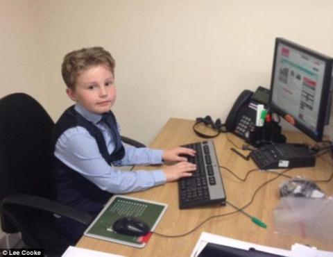 Cậu bé 9 tuổi làm nhân viên kinh doanh sau khi bỏ học - 5