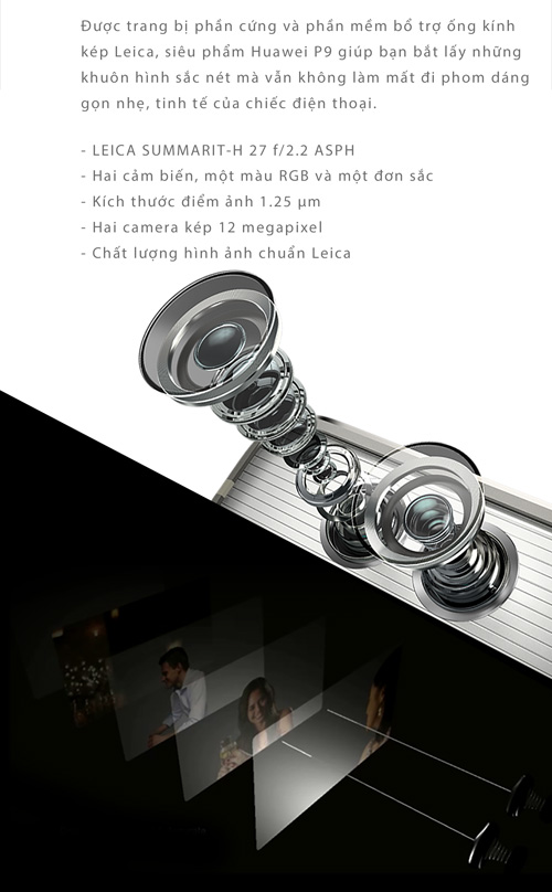 Huawei P9 - Chuẩn mực mới của điện thoại nhiếp ảnh - 3
