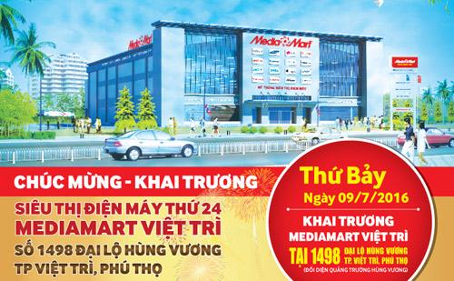 Mediamart khai trương đại siêu thị hiện đại bậc nhất tại Việt Trì - 1