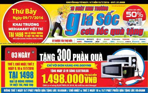 Mediamart khai trương đại siêu thị hiện đại bậc nhất tại Việt Trì - 2