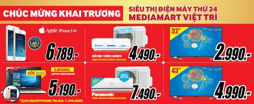 Mediamart khai trương đại siêu thị hiện đại bậc nhất tại Việt Trì - 4