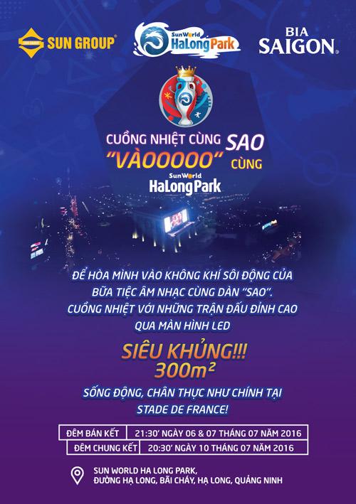 Tưng bừng chung kết Euro cùng sao tại Sun World Ha Long Park - 3