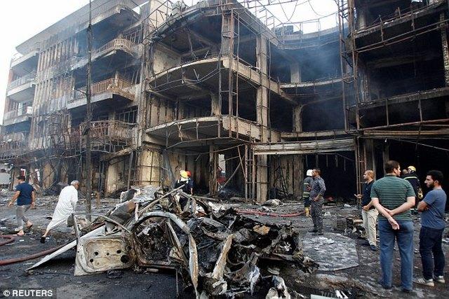 Iraq: Phát hiện thiết bị rà bom đều là... máy dò bóng gôn - 2