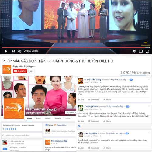 Nhiều bất ngờ trong đêm Gala 'Phép màu sắc đẹp' trên VTV3 - 2