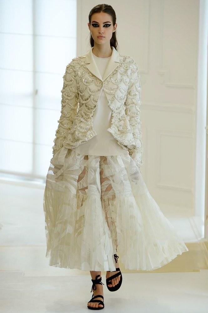 Celine Dion suýt ngã trước thềm show Christian Dior - 13