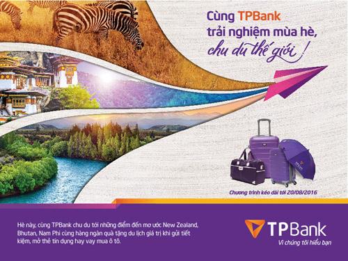 Cùng TPBank trải nghiệm mùa hè, chu du thế giới - 2