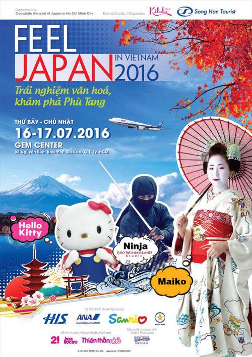 Cảm nhận Nhật Bản qua lễ hội Văn hoá – Du lịch – Thương mại 2016 - 1