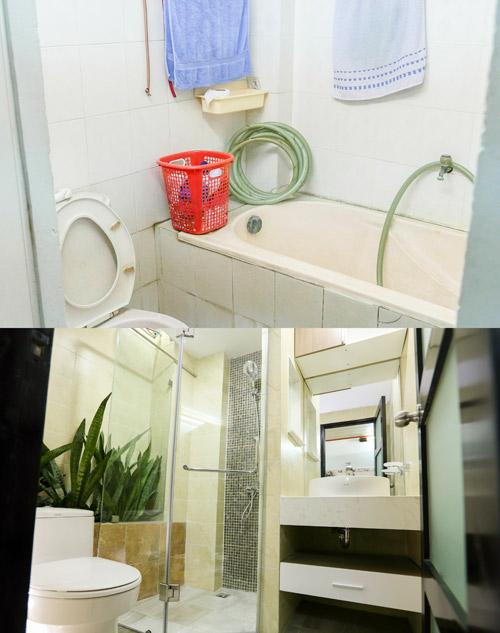 Bí quyết nới rộng phòng tắm dành cho các gia đình Việt - 1