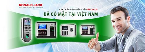 Máy chấm công Ronald Jack – Thương hiệu được tin dùng tại Việt Nam - 1