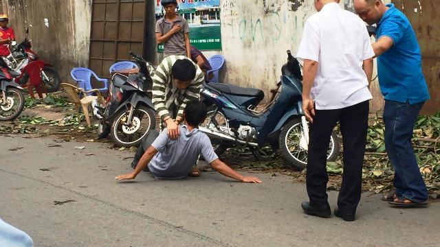 Dựng lại hiện trường vụ nhóm SV đánh chết người ở Sài Gòn - 1