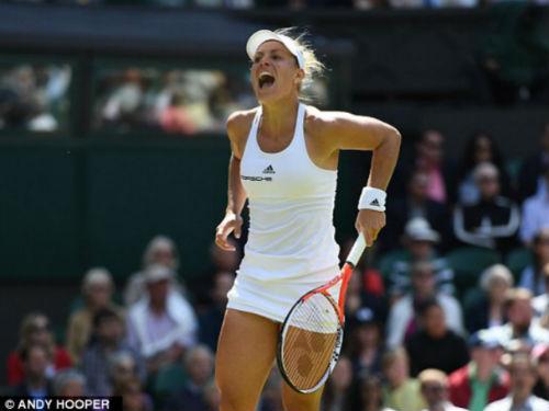 Halep – Kerber: Loạt tie-break tệ hại (Tứ kết Wimbledon) - 1