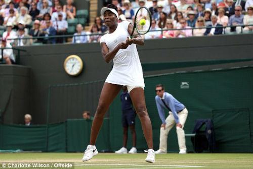 Wimbledon ngày 9: Venus đụng Kerber ở bán kết - 3