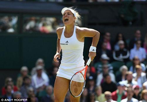 Wimbledon ngày 9: Venus đụng Kerber ở bán kết - 6
