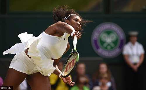Serena - Pavlyuchenkova: 2 break bản lề (Tứ kết Wimbledon) - 1