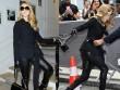 Celine Dion suýt ngã trước thềm show Christian Dior