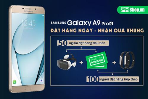 Đặt trước Samsung A9 Pro - nhận quà khủng tại phshop.vn - 1
