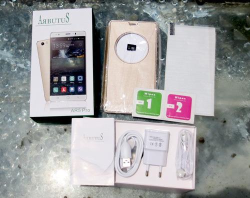 """Arbutus AR5 pro 6 inch """"náo động"""" thị trường smartphone giá rẻ - 5"""