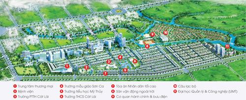 Kiến Á công bố kế hoạch phát triển quỹ đất sạch tại KĐT Cát Lái - 1