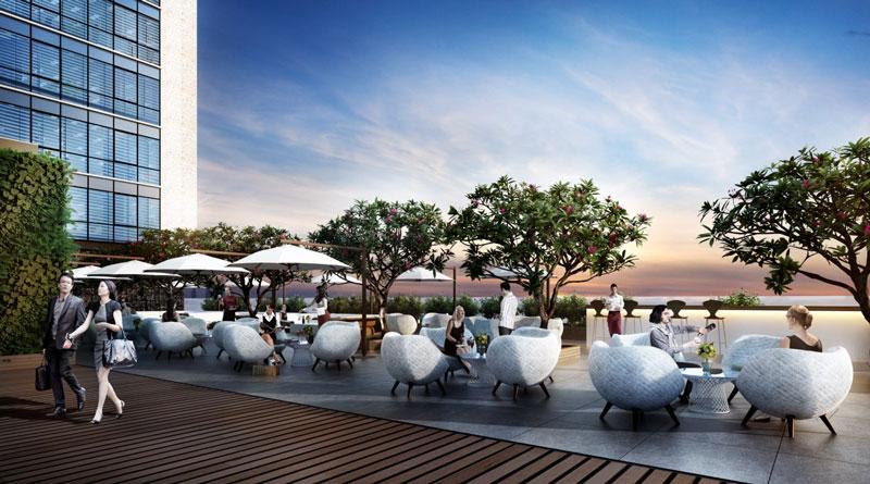 Người dân thích thú với ốc đảo thiên đường ở quận Thanh Xuân - 3