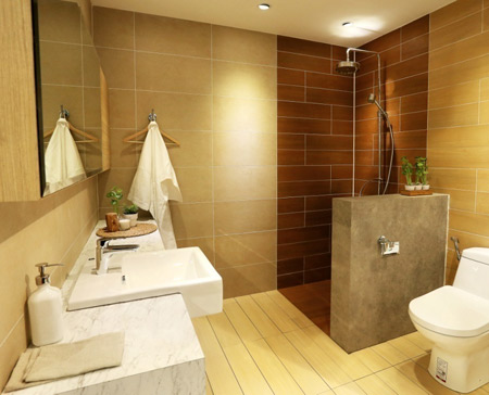 Những thiết kế phù hợp với mọi phong cách và kích thước phòng tắm - 3
