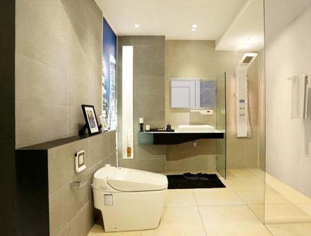 Những thiết kế phù hợp với mọi phong cách và kích thước phòng tắm - 4