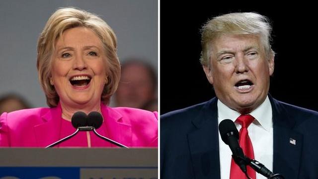 Một tháng Hillary Clinton đăng 20.000 quảng cáo, Trump 0 - 1