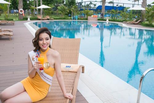 """""""Nấm lùn"""" gợi cảm và cô gái cao 1m81 ở HH Bản sắc Việt - 5"""