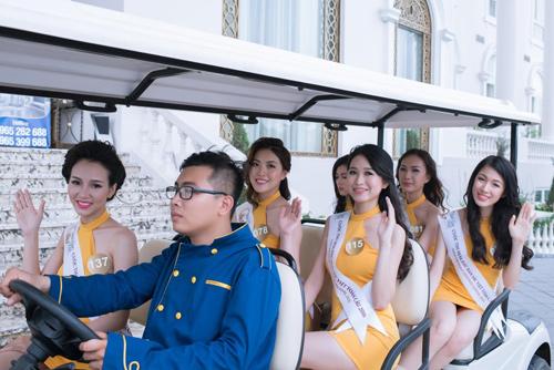 """""""Nấm lùn"""" gợi cảm và cô gái cao 1m81 ở HH Bản sắc Việt - 11"""