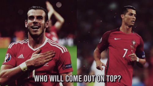 Bale vs Ronaldo - 1