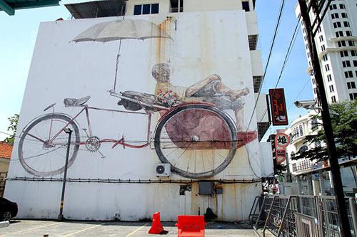 Penang, xứ sở diệu kỳ của nghệ thuật đường phố - 3