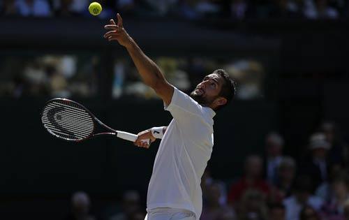 Video Federer vs Cilic - 1