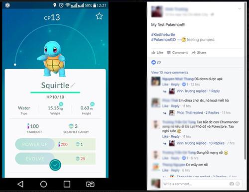 """Game thủ Việt """"phát sốt"""" với Pokémon GO! - 2"""
