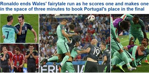 """Ronaldo """"bung lụa"""", báo chí châu Âu cạn lời khen - 1"""