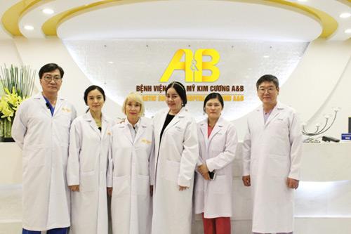 """""""Phép màu sắc đẹp""""– lời chào ấn tượng của Bệnh viện Kim Cương A&B - 1"""