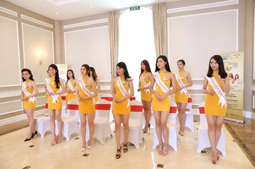 Thí sinh Hoa hậu bản sắc Việt toàn cầu khoe sắc ở FLC Vĩnh Phúc Resort - 1