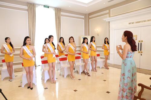 Thí sinh Hoa hậu bản sắc Việt toàn cầu khoe sắc ở FLC Vĩnh Phúc Resort - 2