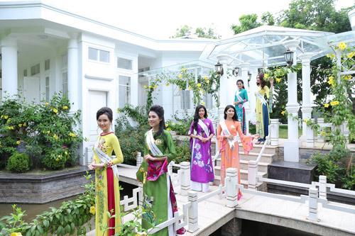 Thí sinh Hoa hậu bản sắc Việt toàn cầu khoe sắc ở FLC Vĩnh Phúc Resort - 9