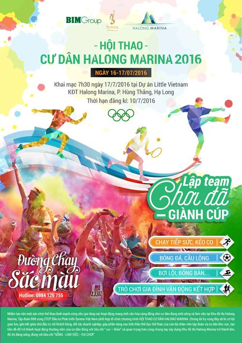 Hội thao cư dân Halong Marina 2016 - 1