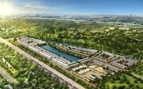 """Đô thị xanh – """"làn gió"""" mới của thị trường bất động sản - 1"""