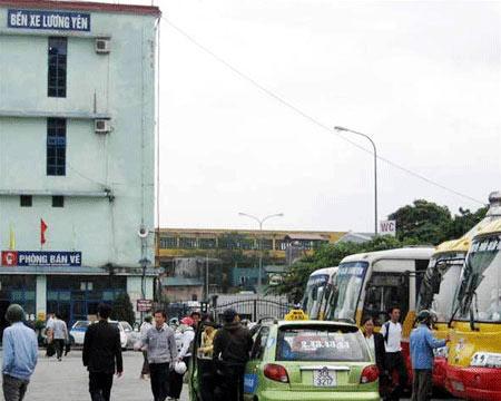 """HN: """"Xóa sổ"""" bến xe Lương Yên, xe khách chuyển về đâu? - 1"""