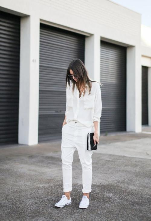 Muốn thật nổi nơi công sở, cứ quần trắng mà diện! - 1