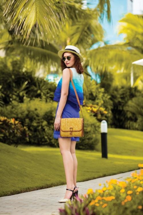Lã Thanh Huyền rạng ngời với váy áo ombre tươi mát - 6